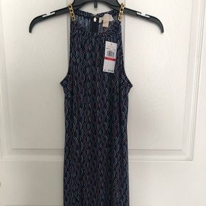 Michael Kors dress with gold chain strap